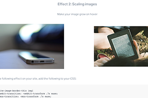 weebly hover image tutorial